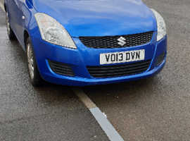 Suzuki Swift, 2013 (13) Blue Hatchback, Manual Petrol, 30,020 miles