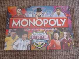 FOOTBALL MONOPOLY. SEALED CONDITION.
