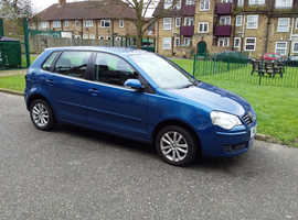 Volkswagen Polo, 2007 (57) Blue Hatchback, Automatic Petrol, 62,300 miles