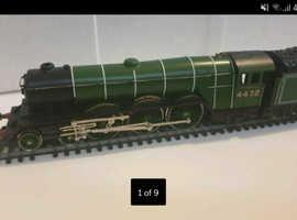 3 X Original 1980's Hornby trains plus other bits