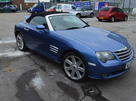 Chrysler Crossfire, 2005 (05) Blue Coupe, Automatic Petrol, 90,000 miles