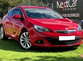 2012 Vauxhall Astra GTC 1.6 Turbo SRI Coupe A Really Lovely GTC, In The Best Colour!...Only 1 Previous Keeper
