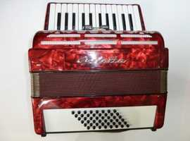 48 BASS PIANO ACCORDION WANTED-TRADE FOR CONCERTINA