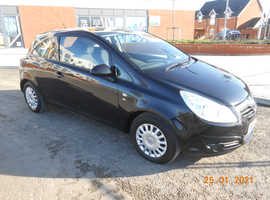 Vauxhall Corsa, 2010 (60) 1.2 Petrol LOW INSURANCE,  ECONOMICAL , REASONABLE ROADTAX , p/x considered