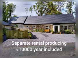 Ireland Sligo house with separate rental income
