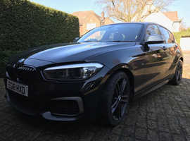 BMW 1 series, 2018 (18) Black Hatchback, Automatic Petrol, 7,628 miles