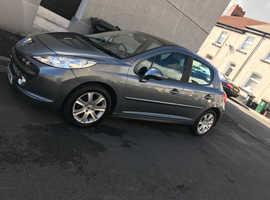 Peugeot 207, 2009 (09) Silver Hatchback, Manual Diesel, 126,670 miles