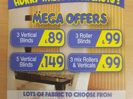 BLINDS SALE NOW ON!
