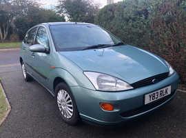 Ford Focus, 2001 (Y) Green Hatchback, Manual Petrol, 47,594 miles