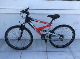 Raleigh Mountain Bike 14 inch wheels