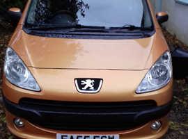 Peugeot 1007, 2005 (55) Orange Hatchback, Semi auto Petrol, 64,000 miles
