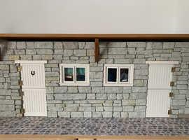 Dolls house tea room and farm shop