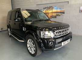 Land Rover Discovery, 2014 (64) Black Estate, Automatic Diesel, 64200A miles
