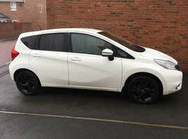 Nissan Note 1.2 Acenta (style pack), 2014 (14) White, Manual Petrol, 39,858 miles