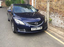 Mazda MAZDA 6, 2008 (08) Blue Hatchback, Manual Petrol, 129,000 miles