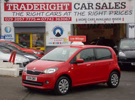 Skoda Citigo, 2014 (14) Red Hatchback, Manual Petrol, 23,113 miles