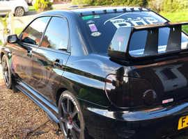 Subaru IMPREZA WRX, 2004 (04)  Saloon, Manual Petrol, 76,000 miles