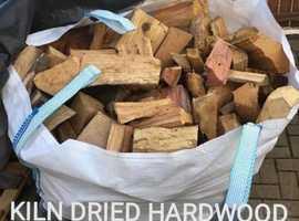 KILN DRIED FIREWOOD LOGS BLOCKS KINDLING
