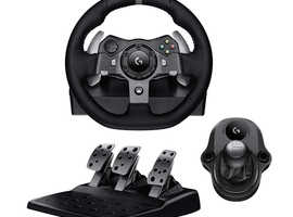 Logitech G920 Wheel & Shifter + Gt Omega Classic Steering Wheel Stand