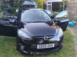 Mazda 2 Sport 1.5 Petrol - 5 Door - Black - 102,000 miles - Excellent Condition!!!