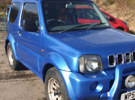 Suzuki Jimny, 2001 (51) Blue Estate, Manual Petrol, 104,001 miles