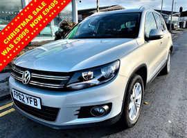 Volkswagen Tiguan, 2012 (62) Silver Estate, Semi auto Diesel, 78,464 miles
