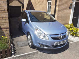 Vauxhall Corsa, 2009 (09) Blue Hatchback, Manual Petrol, 62,000 miles