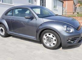 Volkswagen Beetle, 2017 (66), Immaculate, Metallic Paint, Hatchback, Manual Diesel, Only 15,000 miles