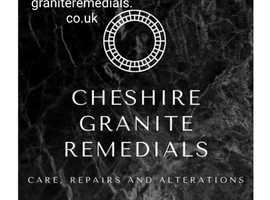 Granite, marble,quartz and Natural stone Care repair and alterations.