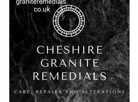 Granite chip repairs and remedials