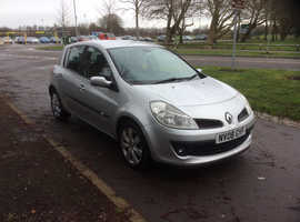 Renault Clio, 2008 (08) Silver Hatchback, Manual Petrol, 70,000 miles