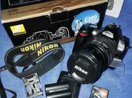 Nikon D70 SLR  6.1 MB camera with Nikkor  28-105mm lens.