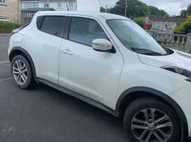 Nissan Juke, 2014 (14) White Hatchback, Manual Diesel, 58,543 miles
