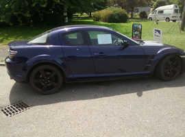 Mazda RX-8, 2005 (54) Blue Coupe, Manual Petrol, 103,000 miles