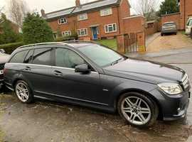 Mercedes C CLASS, 2010 (10) Grey Estate, Automatic Diesel, 83,000 miles