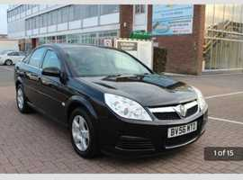 Vauxhall Vectra, 2006 (56) Black Hatchback, Manual Diesel, 116,000 miles