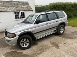 Mitsubishi Shogun Sport, 2003 (03) Silver Estate, Manual Diesel, 181,255 miles