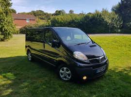 Vauxhall Vivaro Sportive Black SWB 2l CDTI 6 Speed Panel Van Trafic