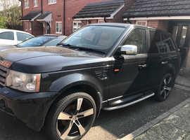 Land Rover Range Rover Sport, 2005 (55) black estate, Automatic Diesel, 144000 miles