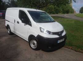 Very clean NV200 (5 speed) and covered trailer