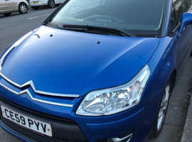 Citroen C4, 2009 (59) Blue Coupe, Manual Petrol, 60,258 miles