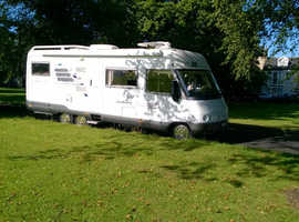 Hymer E700G Tag Axel Motorhome/ Excellent condition