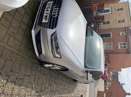 Audi A4, 2014 (64) Silver Saloon, Manual Diesel, 117,000 miles