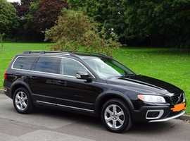 Volvo Xc70, 2008 (57) Black Estate, Automatic Diesel, 150,000 miles