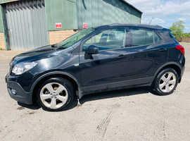 Vauxhall Mokka, 2014 (64) Black Hatchback, Manual Diesel, 120,000 miles