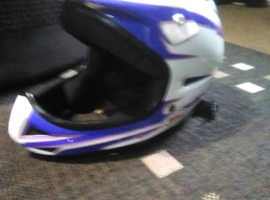 Bike boots and small fit helmet