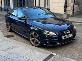 Audi A4, 2012 (12) Black Saloon, Manual Diesel, 61,000 miles