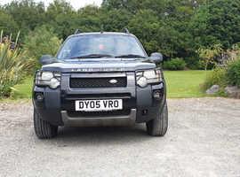 Land Rover Freelander, 2005 (05) Black Estate, Manual Petrol, 76,979 miles