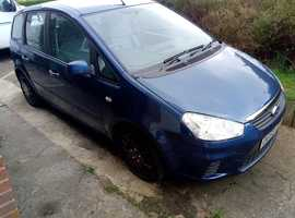Ford C-Max, 2008 (58) Blue MPV, Manual Petrol, 77,000 miles