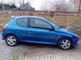 Peugeot 206, 2004 (04) Blue Hatchback, Manual Diesel, 104,000 miles